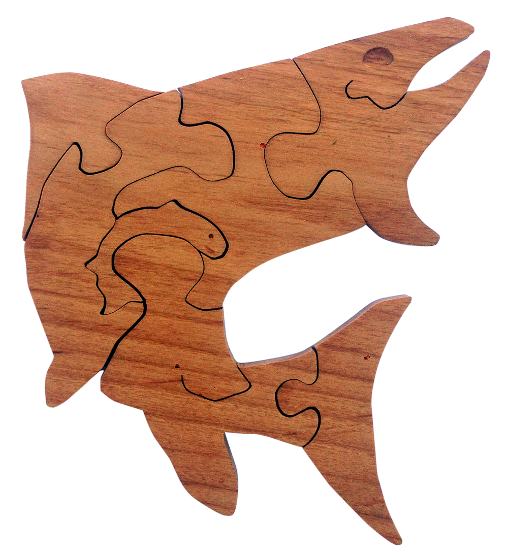 Cutthroat Trout (mahogany)
