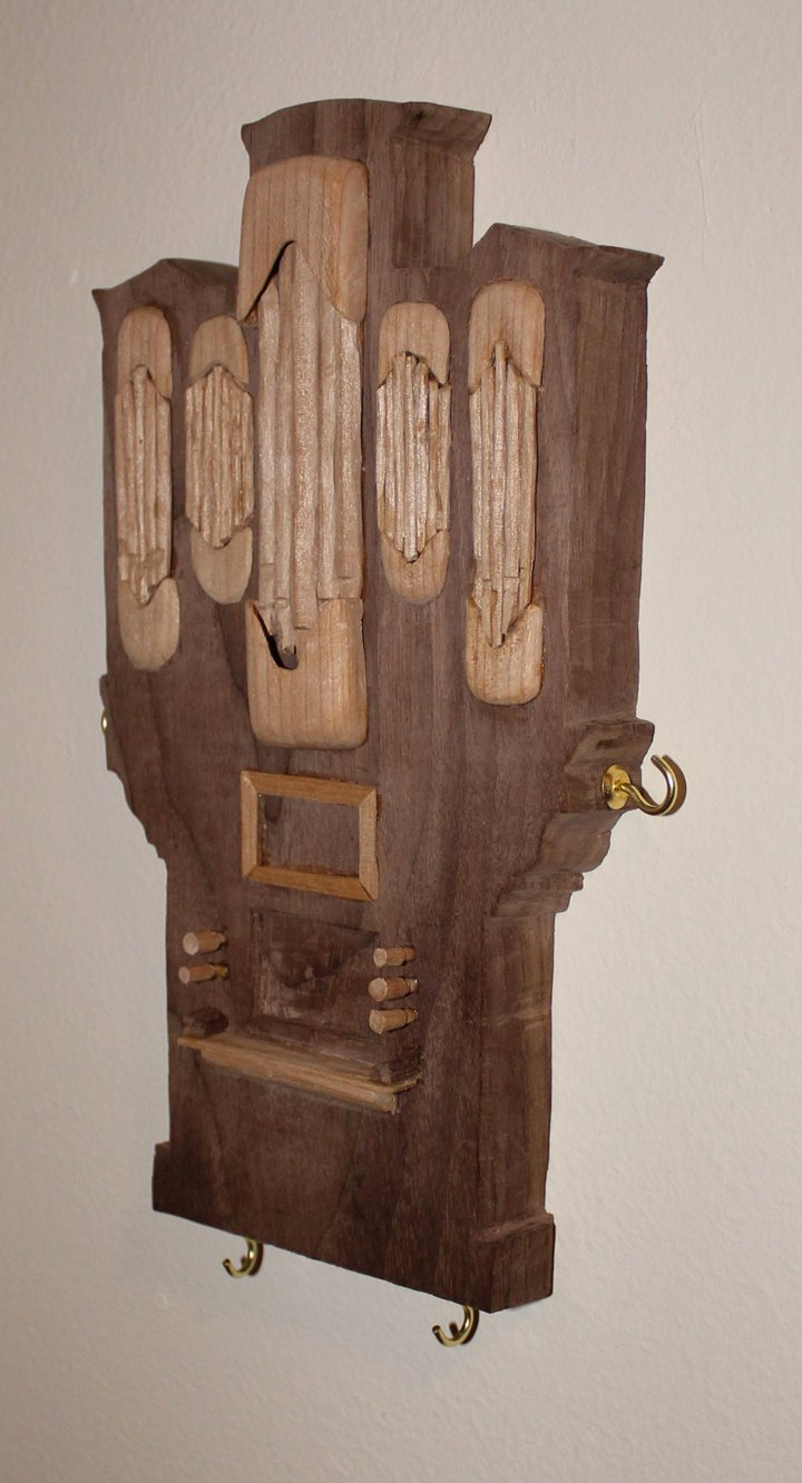 Pipe Organ Key Hanger