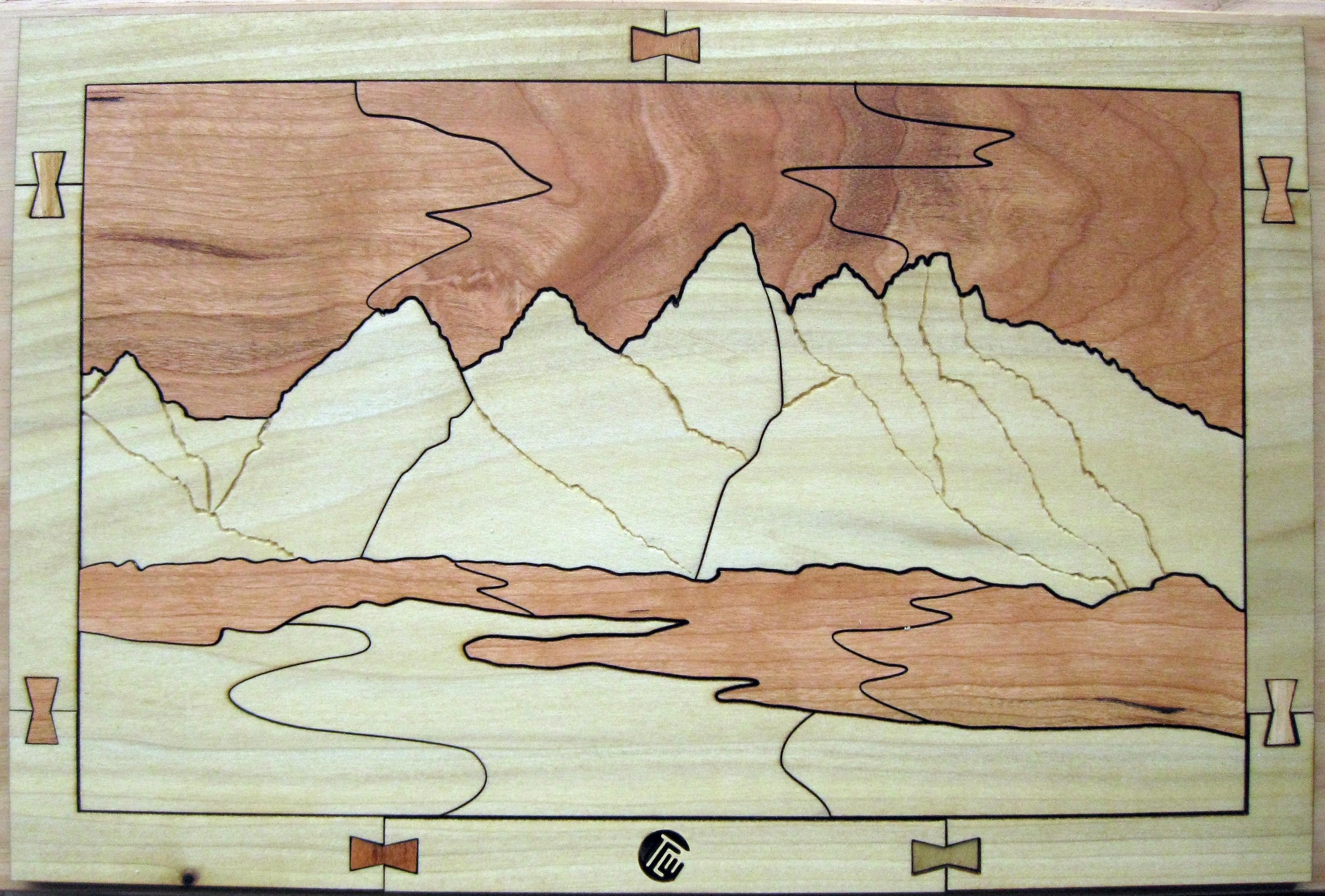 Teton Mountain Range - Duotone 26 Piece