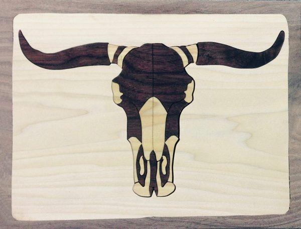 Duotone Longhorn Puzzle