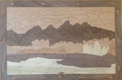 Teton Mountain Range - Large