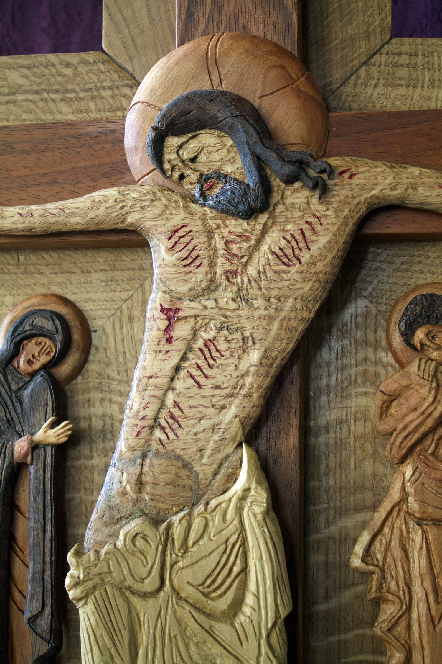 Finished Icon - Jesus Torso