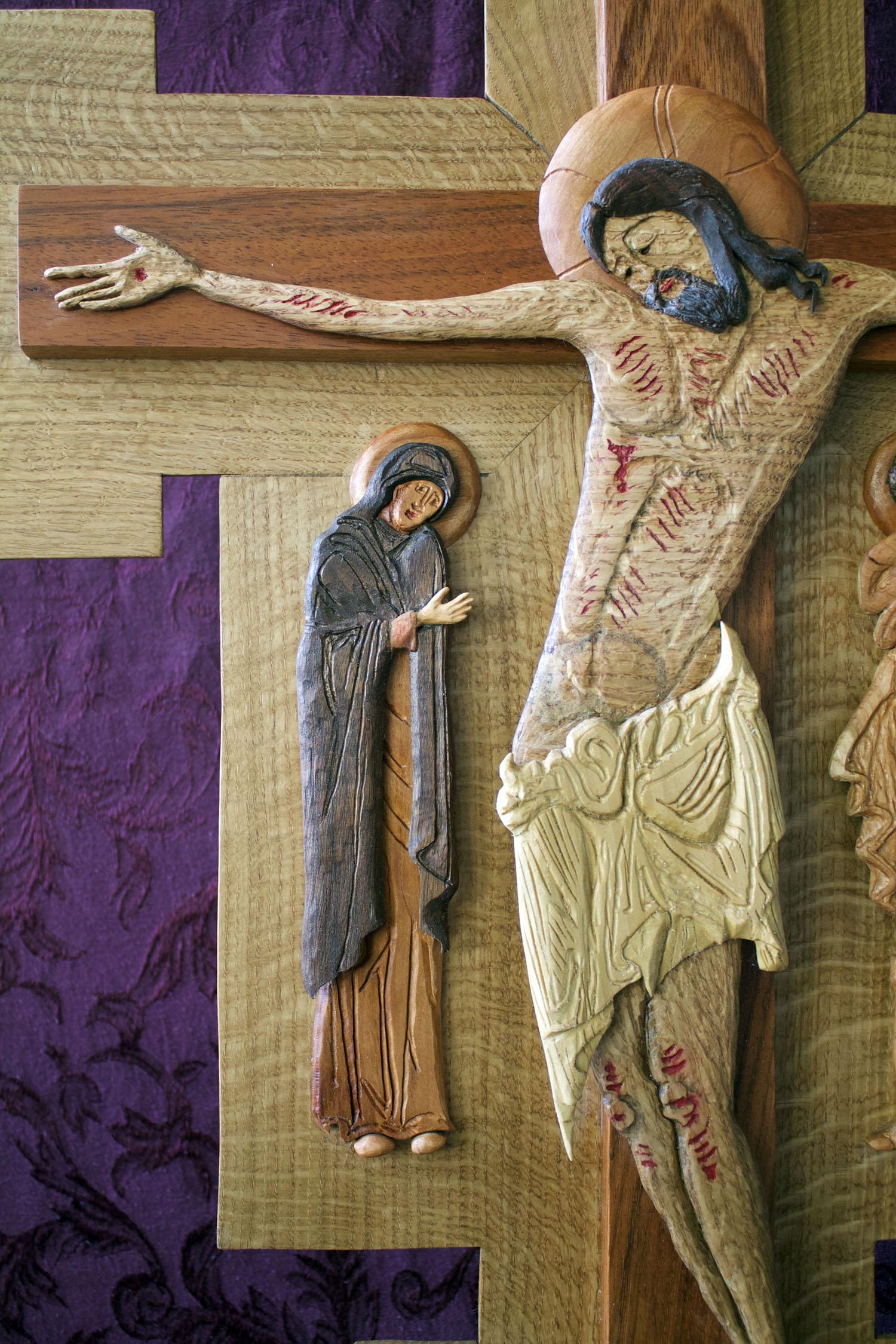 Finished Icon - Mary motioning to Jesus