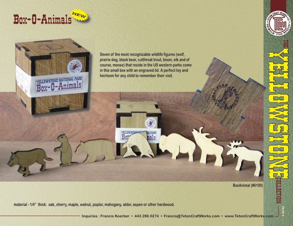 Yellowstone Box-O-Animals