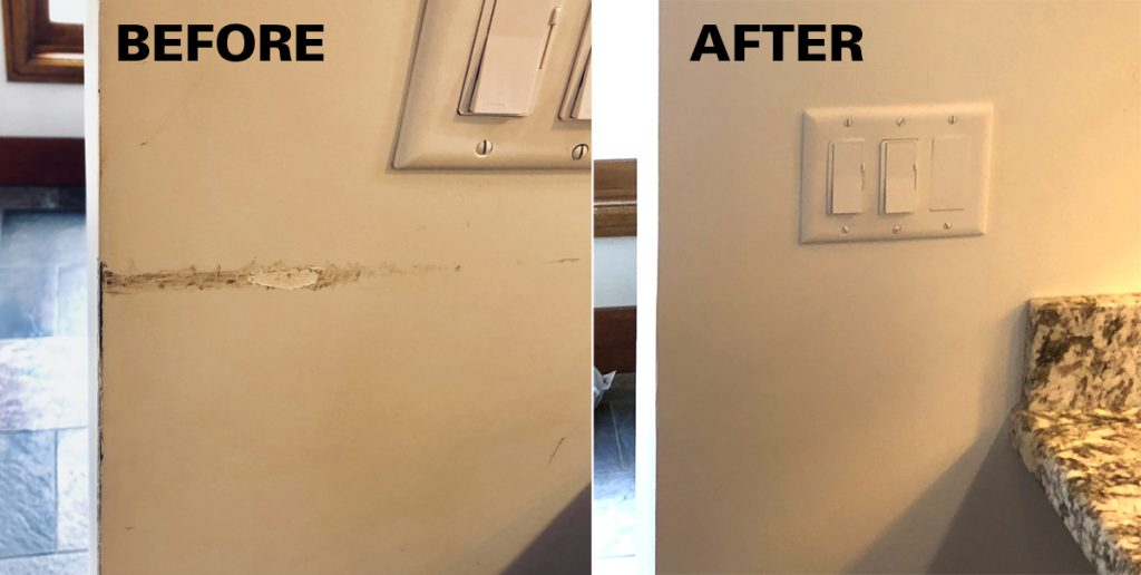Kitchen Wall Repair