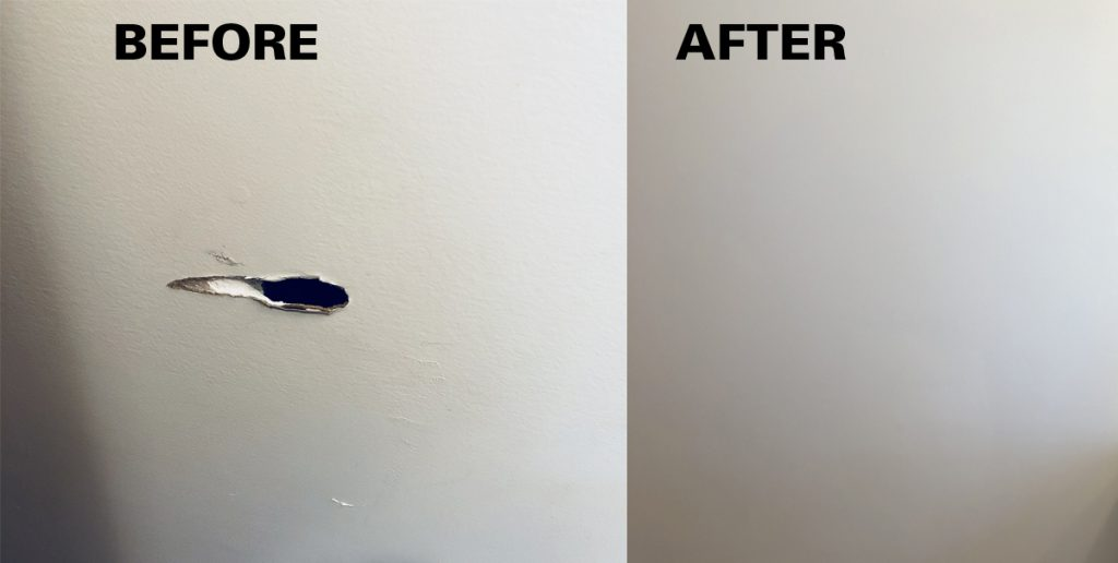 Bathroom Wall Repair