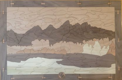 Teton Mountain Range - Large