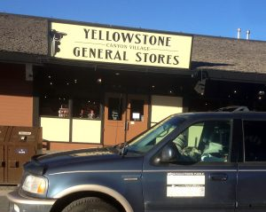 TCW arrives at Yellowstone General Store