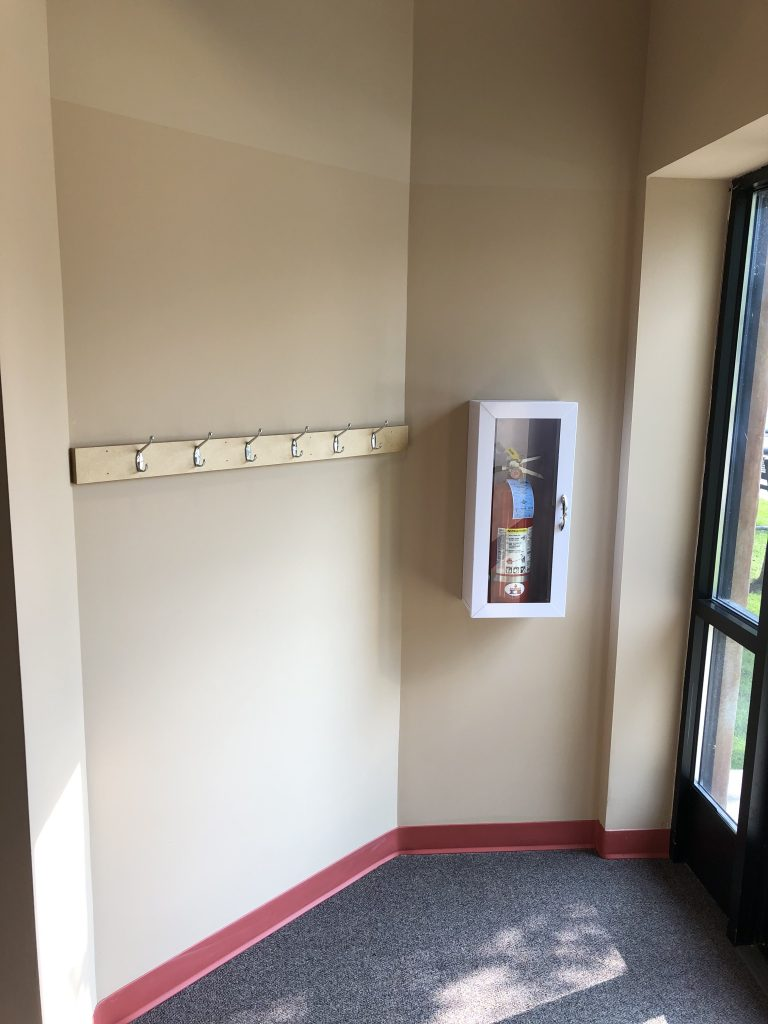 Back Hallway Entrance