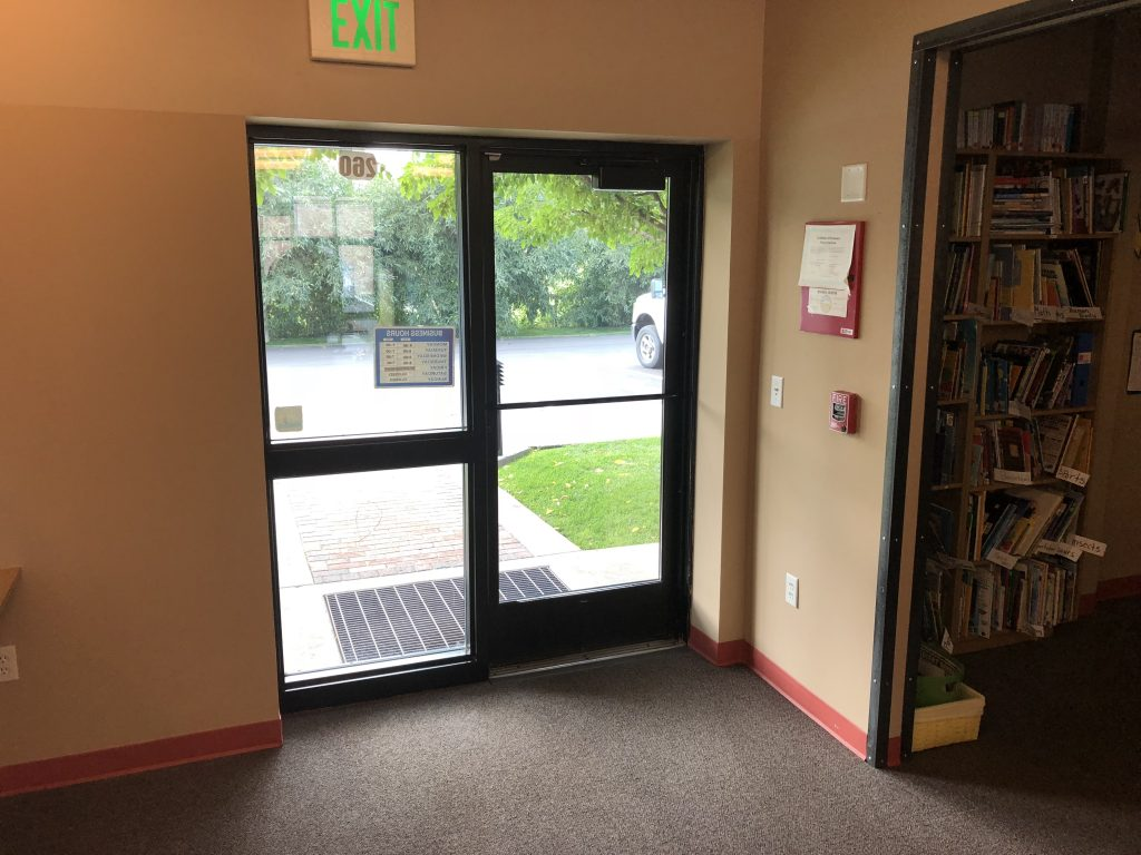 Front Entrance of Teton Literacy Center