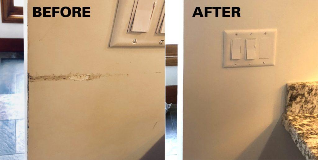 Kitchen Wall Repair