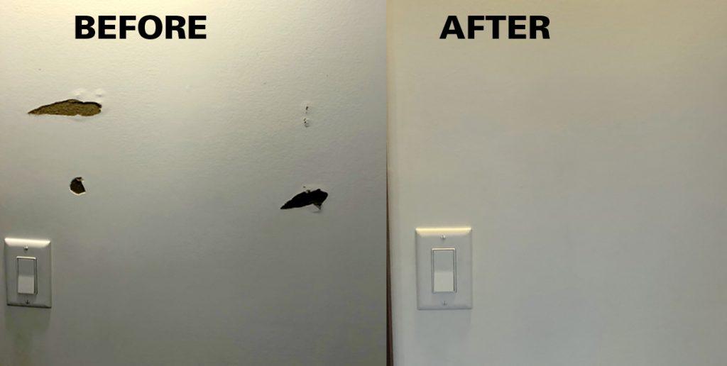 Dining Room Wall Repair